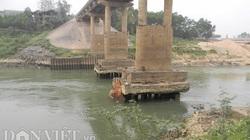 Phú Thọ để doanh nghiệp khai thác cát quá mức khiến cầu Đoan Hùng hỏng nặng