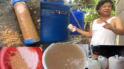 Phú Thọ: Bỏ tiền mua nước sạch, dân lại nhận về nước đục ngầu như nước sông