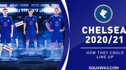 """Đội hình """"thách thức tất cả"""" của Chelsea mùa 2020/21: Hàng công """"siêu khủng"""""""