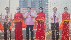 Bí thư Hà Nội dự lễ thông xe cầu vượt Nguyễn Văn Huyên - Hoàng Quốc Việt
