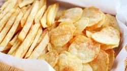 Mẹo làm khoai tây chiên ngoài giòn, trong mềm, vàng ươm, thơm phức