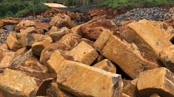 Vụ khai thác hàng trăm khối đá gần trụ sở xã: Liên tục tái diễn
