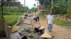 """Hà Nội: Cựu chiến binh """"rủ nhau"""" góp tiền, hiến hàng nghìn m2 đất xây dựng nông thôn mới"""