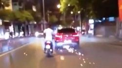 """Nữ tài xế lái BMW """"đại náo"""" đường phố Sài Gòn sau va chạm giao thông"""