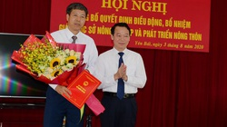 Yên Bái: Điều động Phó trưởng Đoàn đại biểu Quốc hội tỉnh làm Giám đốc Sở NN&PTNT