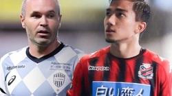 """""""Messi Thái"""" đi vào lịch sử J.League trong ngày đối đầu Iniesta"""