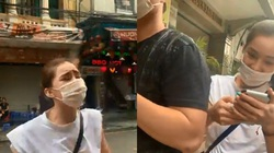 """Nữ diễn viên """"Người phán xử"""" ẩu đả với anti-fan trên đường phố Hà Nội?"""