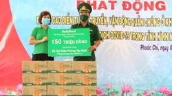 NutiFood đồng hành cùng bộ đội biên phòng Tây Ninh chống dịch Covid-19