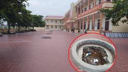Ninh Bình: Học sinh tiểu học ngã vào hố trồng cây xây dở ở trường học, ai chịu trách nhiệm?