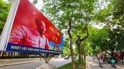 Hà Nội rợp sắc cờ hoa kỷ niệm 75 năm Cách mạng Tháng Tám và Quốc khánh 2/9