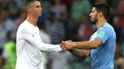 Rời Barcelona, Suarez sắp sát cánh cùng Ronaldo