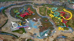 Nhiều cán bộ 'dính' sai phạm khi để công viên nước Thanh Hà xây không phép