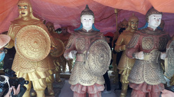 Lâm Đồng: Sẽ không cấp phép trưng bày tượng binh lính trong khu du lịch Quỷ Núi