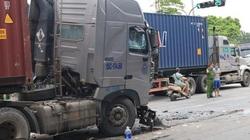 """""""Lý lịch"""" xe container chèn ô tô chờ đèn đỏ, 3 người tử vong"""