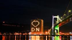 Đà Nẵng: Khách sạn đồng loạt lên đèn hình trái tim giữa mùa dịch Covid-19