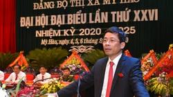Phó Bí thư thường trực Hưng Yên Nguyễn Duy Hưng dự Đại hội Đảng bộ Thị xã Mỹ Hào