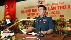 Trung tướng, ĐBQH Lâm Quang Đại tái cử chức vụ Đảng tại Quân chủng Phòng không- Không quân
