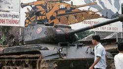 """Ảnh độc """"triển lãm"""" vũ khí chiến lợi phẩm miền Bắc Việt Nam 1973"""
