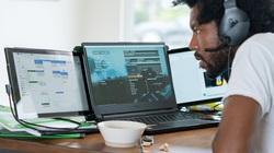 """Phụ kiện """"bá đạo"""" giúp người dùng laptop trải nghiệm 3 màn hình cùng lúc"""