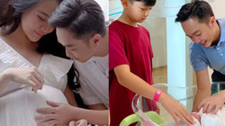 Cường Đô la đón con đầu lòng với Đàm Thu Trang, tên em bé được tiết lộ