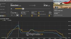Máy bay chở khách của Trung Quốc gặp sự cố hạ cánh khẩn cấp