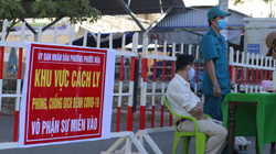 Quảng Nam: Nghi có ca nhiễm Covid-19, Tam Kỳ phong tỏa một đoạn đường ngay trong đêm