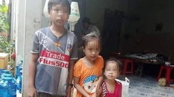 Vợ chồng tử nạn bỏ lại 3 con nhỏ