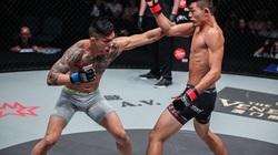 Martin Nguyễn dùng đòn siết cổ, võ sĩ gốc Singapore... bất động