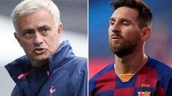"""Man City mua hụt Messi, HLV Mourinho lập tức """"đá xoáy"""""""