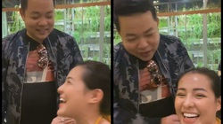 Quang Lê nhìn chằm chằm vòng 1 Ngân 98, có phát ngôn phản cảm trên livestream