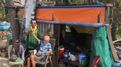 """""""Ông Tây cô đơn"""" được cưu mang trong vòng tay ngư dân nghèo Mũi Né"""