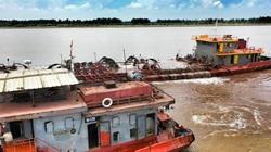 Sông Đà Hà Nội khai thác cát tàn phá biển tại Nam Định (Bài 3)