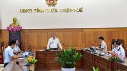 Chủ tịch TT-Huế nêu lý do tỉnh dè chừng nới lỏng phòng chống dịch Covid-19