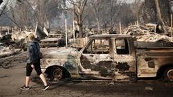 Ảnh: Đám cháy phá hủy 5 thị trấn tại Mỹ, ít nhất 15 người thiệt mạng