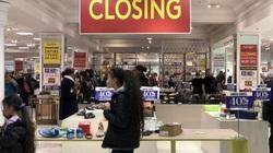 Doanh nghiệp bán lẻ phá sản gia tăng vì hàng tồn chất đống mà người dân không mua