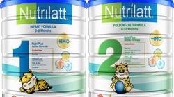Cục An toàn thực phẩm cảnh báo một số lô sữa Nutrilatt không đủ lượng sắt, kẽm