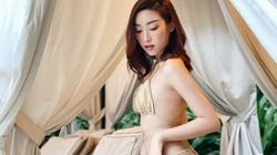 """Đỗ Mỹ Linh hiếm hoi mặc bikini """"tí hon"""" táo bạo quyến rũ khiến dân tình """"bỏng mắt"""""""