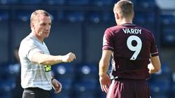 """Leicester vùi dập tân binh, HLV Rodgers ca ngợi hết nấc """"Vua phá lưới"""""""