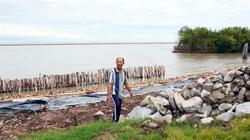 Cận cảnh: Tuyến đê biển trăm tỷ Tây Cà Mau sai phạm nghiêm trọng, liên tục sụt lún, nứt toác nhiều điểm