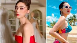 """Bảo Thy táo bạo mặc bikini quyến rũ """"đốt mắt"""", Lâm Khánh Chi mặc o ép khiến chiếc váy như sắp bung"""