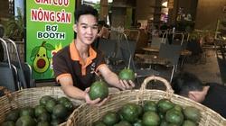 Vì sao bơ booth dẻo ngon thế mà phải xuống đường Sài Gòn, giá rớt còn 20.000 đồng/kg?