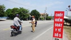 Người từ Đà Nẵng đến Huế không còn bị cách ly nhưng bị cấm tới chỗ đông người