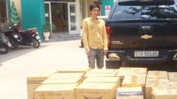 Vận chuyển hơn 1.000 cây thuốc lá lậu, 3 đối tượng bị bắt