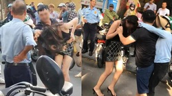 Điều tra vụ chồng chở bồ nhí trên xe Luxes LX 570 bị vợ lao vào đánh ghen