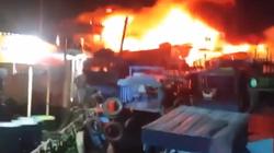 Khánh Hòa: Tàu cá đang neo đậu, bất ngờ cháy ngùn ngụt
