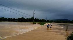 Hà Tĩnh: Hơn 23.000 học sinh Hương Khê nghỉ học do mưa lớn