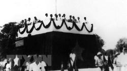 Nhìn lại những hình ảnh lịch sử khi Bác Hồ đọc Tuyên ngôn Độc lập