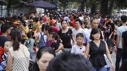 Công viên Thủ Lệ thu hút nhiều người dân đến vui chơi dịp Quốc khánh