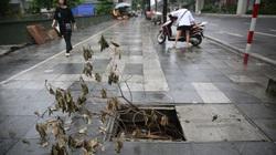 Xuất hiện nhiều nắp cống, hố ga hư hỏng trên vỉa hè Hà Nội