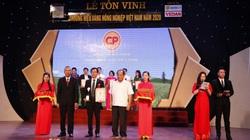 C.P. Việt Nam nhận danh hiệu Thương hiệu Vàng nông nghiệp Việt Nam 2020